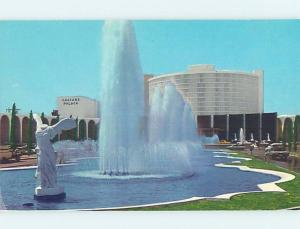 Pre-1980 FOUNTAIN AT CAESARS PALACE JUMPED BY EVEL KNIEVEL Las Vegas NV B0333
