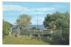 Leif Erikson Park Duluth Minnesota Viking Ship 1976 Postcard