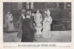 Royal Families, Het Nieuwe Portret Van Onze Prinses Juliana, 1911
