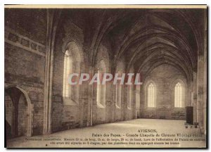 Postcard Old Avignon Popes' Palace Grand Chapel of Clement VI 1342 1352