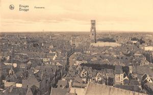 BR55779 Panorama bruges belgium