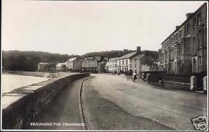 wales, BEAUMARIS, Anglesey, The Promenade (1933) RPPC