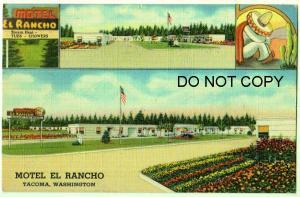 Motel El Rancho, Tacoma Wash