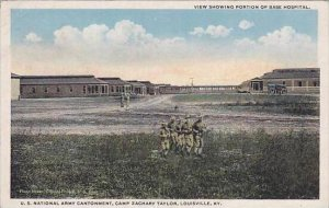 Kentucky Louisville Camp Zachory Taylor View Showing Portion Of Base Hospital