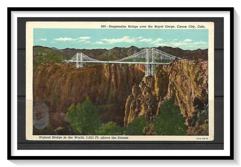 Colorado, Canon City - Royal Gorge Suspension Bridge