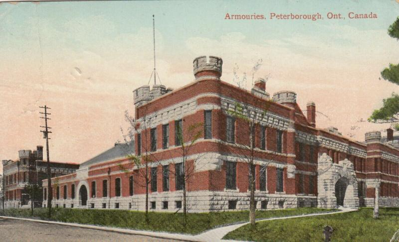 PETERBOROUGH , Ontario , 1911 ;  Armories