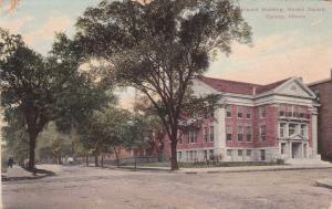 QUINCY, Illinois, PU-1909; Herald Building, Herald Square
