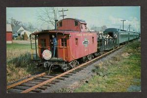 NJ Morris County Central RR Train WHIPPANY NEW JERSEY