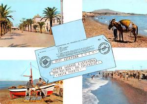 Spain Old Vintage Antique Post Card Telegrafos Estephona 1973