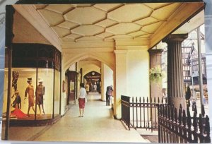England Chester Eastgate Street Row - unposted