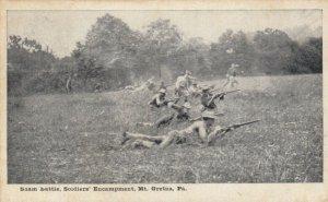 MT GRETNA , Pennsylvania, PU-1911; Sham battle, Soldiers' Encampment