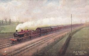 UK Railroad Train ; LEEDS Express, 00-10s ; TUCK
