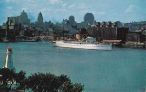 Canadian Pacific Ocean Liner - Montreal Harbour QC, Quebec, Canada