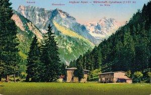 Germany Allgäuer Alpen Wirtschaft Oytalhaus 3.30