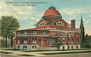 D/B Central Methodist Episcopal Church Traverse City MI 1916