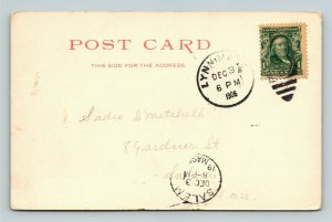 Salem MA-Massachusetts, Chestnut Street, Vintage c1906 Postcard