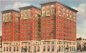 Philadephia Pennsylvania~Penn Sheraton Hotel~39th & Chestnut~1950 Linen Postcard