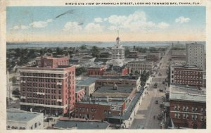 TAMPA, Florida, 00-10s; Bird's Eye View of Franklin Street, Looking Towards Bay