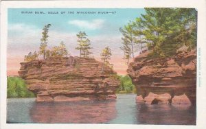 Wisconsin Wisconsin River Sugar Bowl Dells Of the Wisconsin River