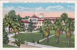California loma Lina Main Sanitarium Building loma Linda Sanitarium And Hospi...