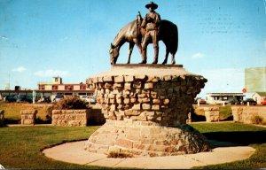 Montana Billings William S Hart Monument 1965