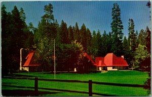 LAKE ARROWHEAD, California Postcard NORTHSHORE TAVERN c1940s Chrome Unused