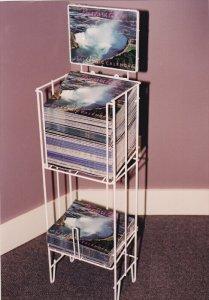 ADV: 8 1/2 x 11 Calendar Floor Display, 50-70s