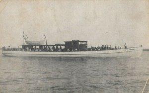 CAPE MAY , New Jersey, 1900-10s7 ; CAPT. JOHNSON fishing boat