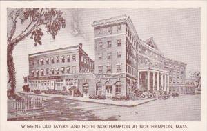 Massachusetts Charlemont Wiggins Old Tavern And Hotel Northhampton At Charlem...