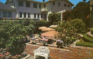 CA - Carmel, Pine Inn Patio
