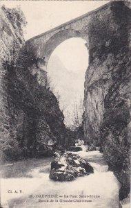 DAUPHINE, Isere, France; La Pont Saint-Bruno, Route de la Grande-Chartreuse, ...
