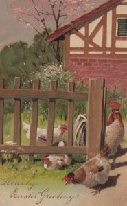 EASTER , 00-10s ; Chickens ; PFB 8473