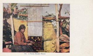 Navajo Blanket Weaver #2 , 1900-10s
