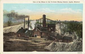 Postcard Mine in Tri State Mining District Joplin Missouri