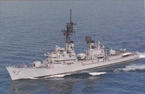 U S S Henry B Wilson DDG-7 Guided Missile Destroyer