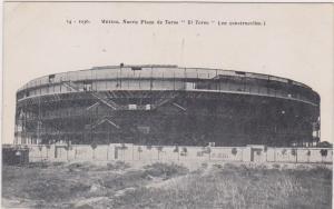 Construction of Nueva Plaza de Toros El Toro Stadium , Mexico, 1900-10s