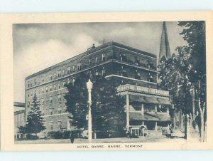 1920's HOTEL SCENE Barre Vermont VT AE2401