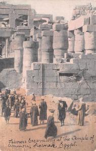 Sakkarah Egypt, Egypte, Africa Excavating Temple of Ammon Sakkarah Excavating...