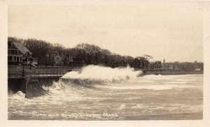 G31/ Lynn Massachusetts RPPC Postcard c1910 Surf Boulevard Homes