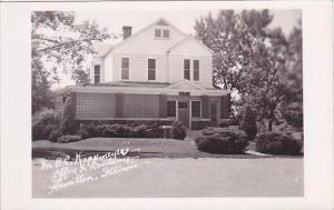 Illinois Hamilton Dr B C Kappmeyer Office &  Residence Real Photo RPPC