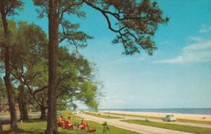 Mississippi Gulf Coast U S Hiighway 90 Overlooking Gulf Of Mexico