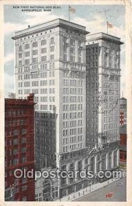 New First National Soo Building Minneapolis, Minn, USA Postcard Post Card Min...