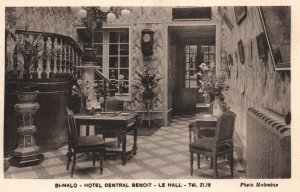 St-Malo,Hotel Central Benoit