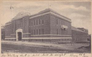 Exterior,  Armory,  Manchester,  New Hampshire,   00-10s