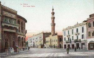 Le Caire , Egypt , 1900-10s ; Rue Nubar Pasha