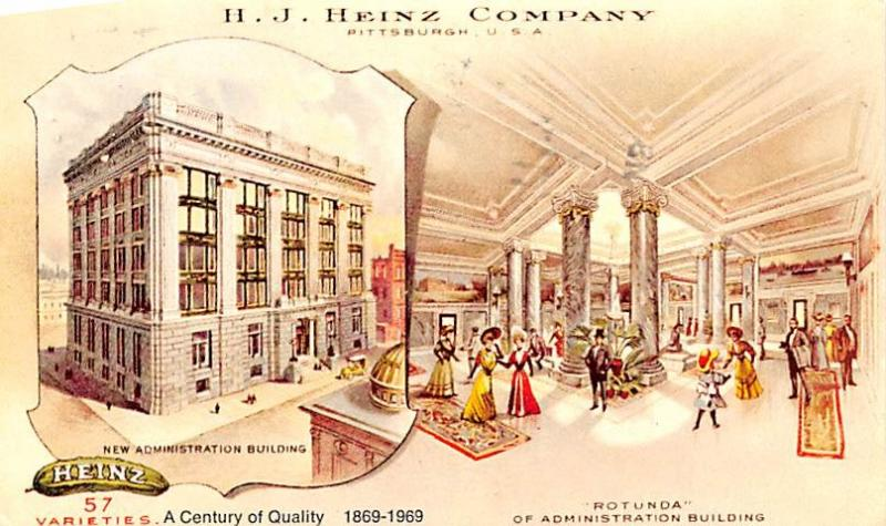 Paint & Wallpaper Advertising Old Vintage Antique Post Card HJ Heinz Company ...