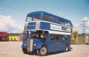 Huddersfield & Bradford Building Society Bus Advertising Postcard