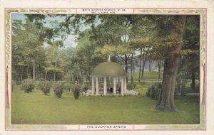 WHITE SULPHUR SPRINGS, West Virginia, 1900-10s; The White Sulphur Springs