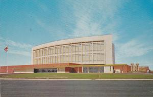 Exterior,  The Jubilee Auditarium in Calgary,  Alberta,  Canada,  PU_1958
