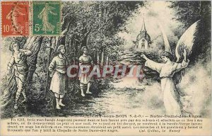 Old Postcard Clichy sous Bois SO Our Lady of Angels